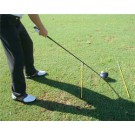 Golf alignment sticks 2 pcs