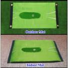 Acu-Strike Golf Mat with instant feedback