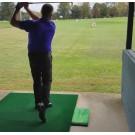 Acu-Strike Golf Mat with instant feedback Indoor model